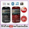 Cheap Dual Sim Card Qwerty Keyboard Mobile Phone i6 Pro Unlocked Original Quad Band with CE