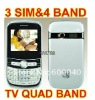 Cheap Mobile Phone F3 With 3 SIM Qwerty Keyboard
