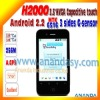 China Mobile Phone Android 2.2 H2000