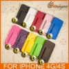 Christmas Promotion 20% Off 20X Slide Case Cover with Swivel Belt Clip Holster Stand for iPhone 4 4G &LF-0349