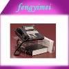 Clear lucite phone stand /perspex/acrylic telephone&card  display stand