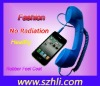 Corded handset for mobile phone with volume control