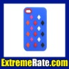Cubes Silicone Case with Colorful Cells for Apple iPhone 4th 4G