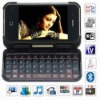 Dapeng T7000 Quad Band Dual Cards Wifi Analog TV External QWERTY Keyboard Leather case Cell Phone