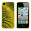 Dot Wave Design Soft TPU Case for iPhone 4,protective cover,back cover,paypal accept