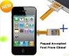 Dual SIM Card Adapter For I phone 4 4G