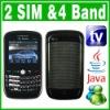 Dual SIM Dual Standby 2 Camera Java TV QWERTY Phone