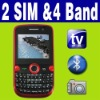 Dual SIM Dual Standby 2 camera Quad-band phone Unlocked