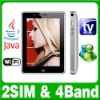 Dual SIM Dual Standby 2 camera TV  Java Wifi phone