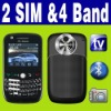 Dual SIM Dual Standby 2 camera TV QWERTY phone Unlocked