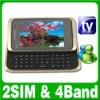 Dual SIM Dual Standby 2 camera TV Slide Mobile phone