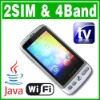 Dual SIM Dual Standby Java Wifi TV Java phone Unlock cell phone