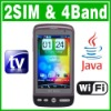 Dual SIM Dual Standby Java Wifi TV Java phone Unlock mobile phone