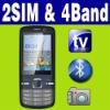 Dual SIM Dual standby MP3 MP4 TV Smart cellphone Unlocked