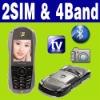 Dual SIM Dual standby MP4 TV racing car phone Unlocked
