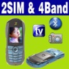 Dual SIM Dual standby MP4 TV racing car smart mobile phone Unlocked