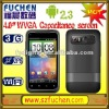 Dual SIM Unlocked Smartphone with Android2.3 MT6573 GPS Google Wifi TV
