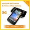 Dual Sim 3G Wifi GPS Mobile Phone Android 2.3 TV