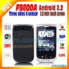 Dual Sim Mobile Phone Android 2.2 F9800A