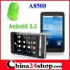 Dual Sim WIFI TV Android 2.2 Smart phones A8500 5.0inch  Touch Screen