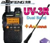 Dual band ham Radio,PMR Radio,Ham Radio ,Cheap radio ,BAOFENG UV-3R 136-174/400-470Mhz mini radio Dual Frequency Display