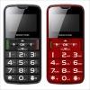 Dual band portable seniors/big number cell phones/sos phones