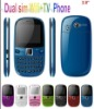 Dual sim wifi tv cell phone