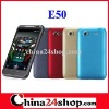"E50 4.3"" capacitive WCDMA 3G Android 2.3 MTK6573 SMART phone"