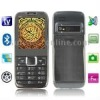 E71 Grey, Analog TV (PAL/NTSC/SECAM), Bluetooth FM Function Quran Mobile Phone with 2GB TF Card, Dual Sim cards Dual standby, Qu