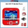 E81 Quad Band Dual Cards Dual Standby Dual Cameras Color TV WIFI Bluetooth Java 2.5-inch Touch Screen celulares wifi tv