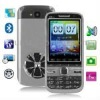 E9650B Black + DVR Camera, 4 Sim cards, 4 standby, Analog TV (SECAM/PAL/NTSC), JAVA FM function Mobile Phone, Quad band, Network