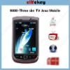 EK-98 Slide three sim TV mobile Phone
