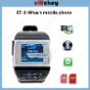 ET-3 Quad Band Dual SIM Card Bluetooth Touch Screen Watch China Phone