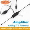 Erisin Car Analog TV Antenna Waterproof with Amplifier