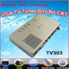 External VGA TV Tuner Box for CRT and LCD Monitors (support NTSC) -TV303