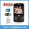 F026 Wifi TV Dual Sim Card cellphone with Qwerty Keyboard