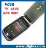 F038 GPS mobile phone WIFI JAVA TV