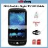 F126 Dual sim DVB-T Digital TV WiFi phone F126