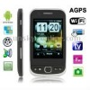 F603 Black, AGPS + Android 2.2 Version, Analog TV (SECAM/PAL/NTSC), Wifi Bluetooth FM function Mobile Phone, Dual Sim cards Dual