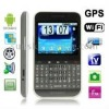 F605 Red, GPS + Android 2.2 Version, QWERTY Keyboard, Analog TV (SECAM/PAL/NTSC), Wifi Bluetooth FM function Touch Screen Mobile