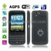 F606 Black, AGPS, Android 2.2 Version, Analog TV (SECAM/PAL/NTSC), Wifi Bluetooth FM function Mobile Phone, Dual Sim cards Dual