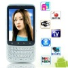 F606 android Smart mobile phone Qwerty keyboard 2.8 inch touch screen