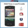 F9500 TV with 2.8'' touch screen three sim cards mobile phones
