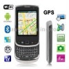 F9800A Black, QWERTY Keyboard, GPS + Android 2.2 Version, Analog TV (PAL/NTSC/SECAM), Wifi Bluetooth FM function Mobile Phone, D