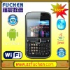 FCB048 QWERTY Android mobile phone dual sim dual standby support WIFI, GPS