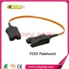FDDI DX MM  fiber optic patch cord with 3.0mm PVC, LSZH  cable and ROHS