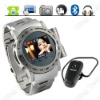 FREE GIFT + TFT touch screen quad band waterproof watch phone W968T