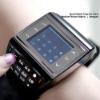 Fashion AVATAR Fashion Quad-band music watchmoblie phone wrist watch phone