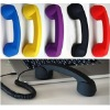 Fashion Anti-radiation Retro Handset for Cellphone with Rubber Paint