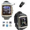 Fashion Quad-band waterproof music watch mobile phone built-in 2G memory   wrist watch phone